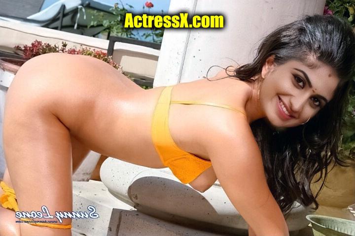 Chaithra Rai nude ass naked open bra nipple
