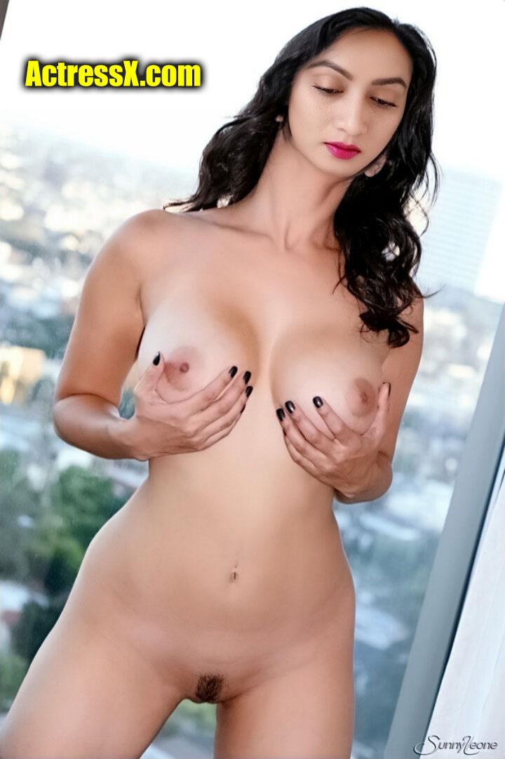 Full Nude Ashmita Karnani pressing boobs naked body