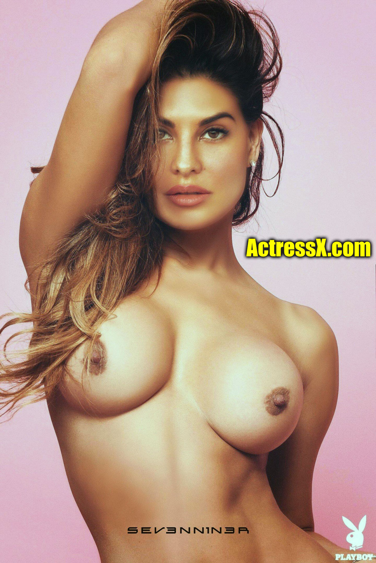 Jacqueline Fernandez naked nipple boobs fake