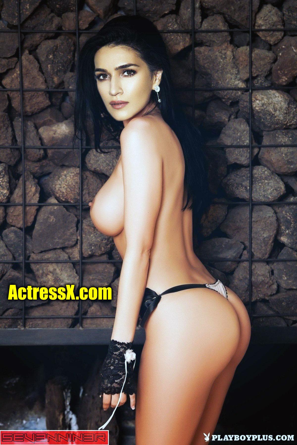 Kriti Sanon topless boobs fakes photo