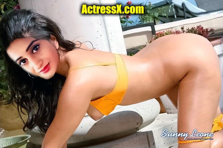 Meena Vasu open yellow bra nude ass foto