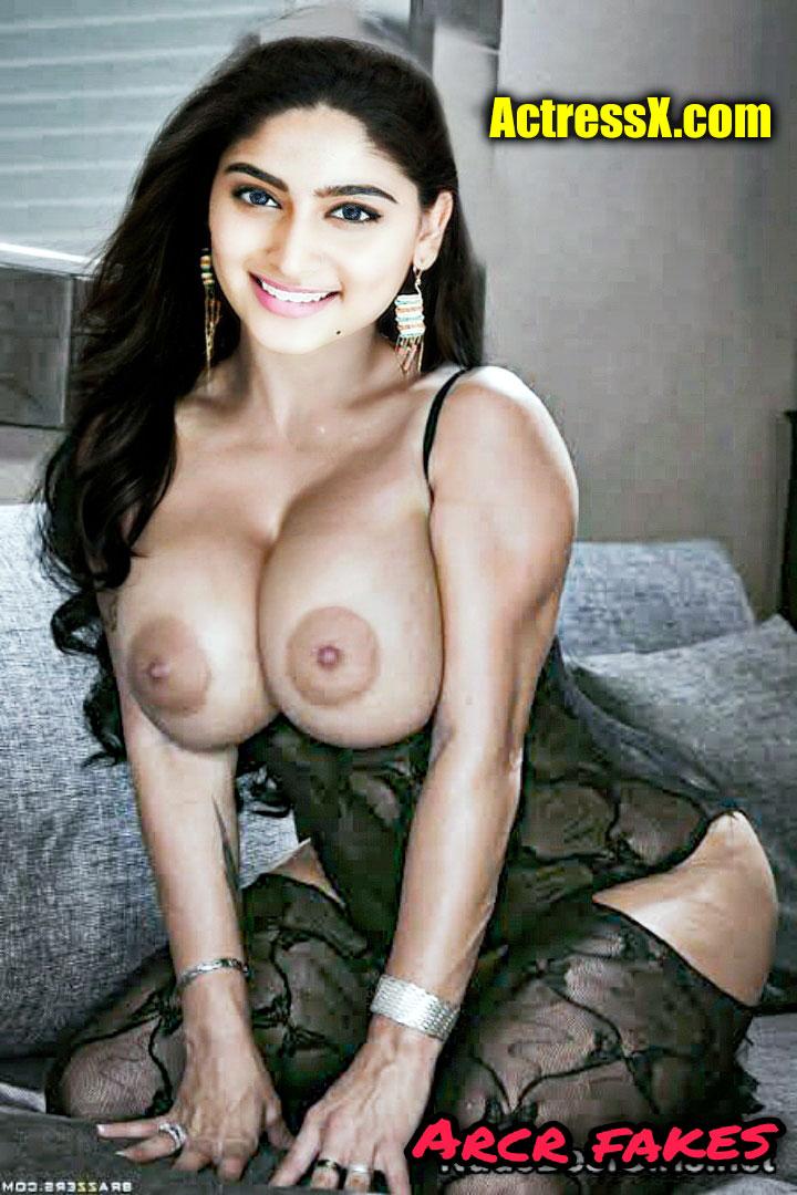 Nishvika Naidu big boobs nude open lingerie xxx image