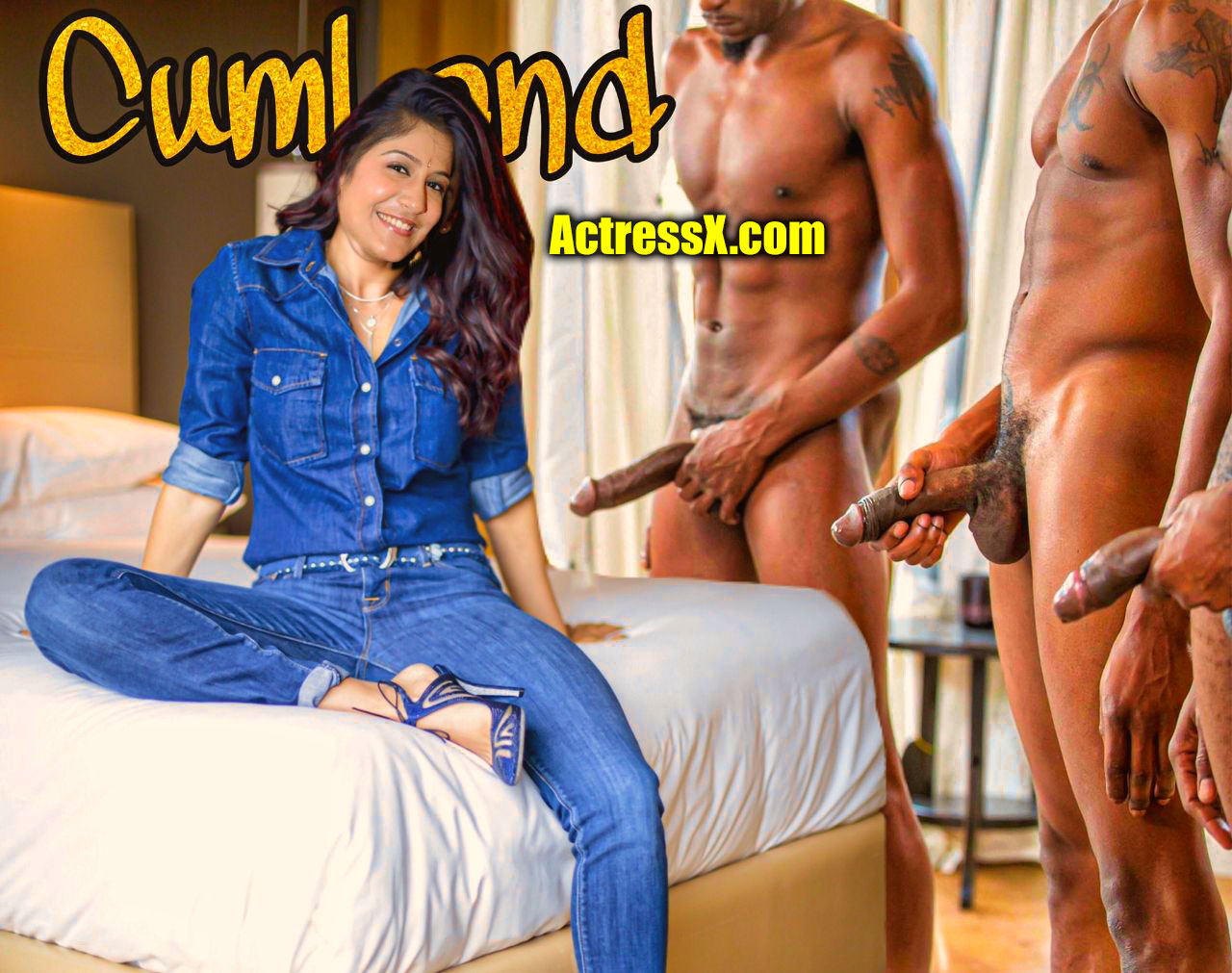 Sexy Singer Shweta Mohan private hotel room blacked photos