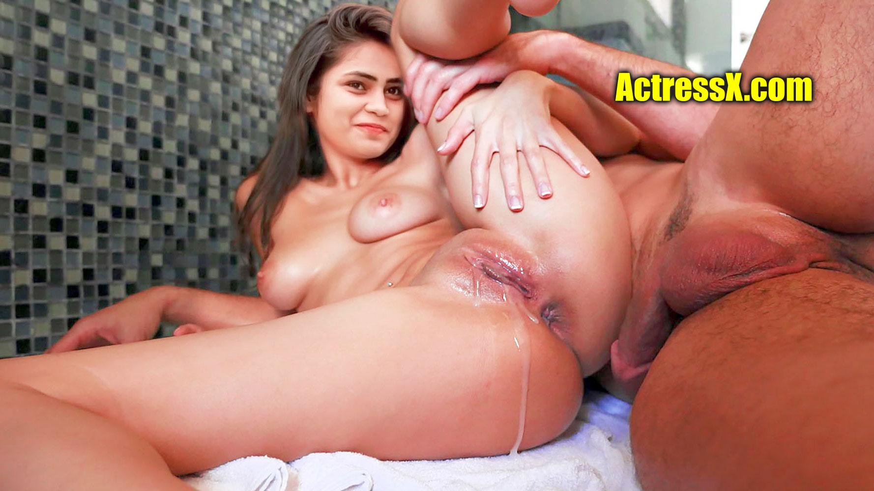 Sowmya Dhanavath nude pussy cumshot after hardcore sex