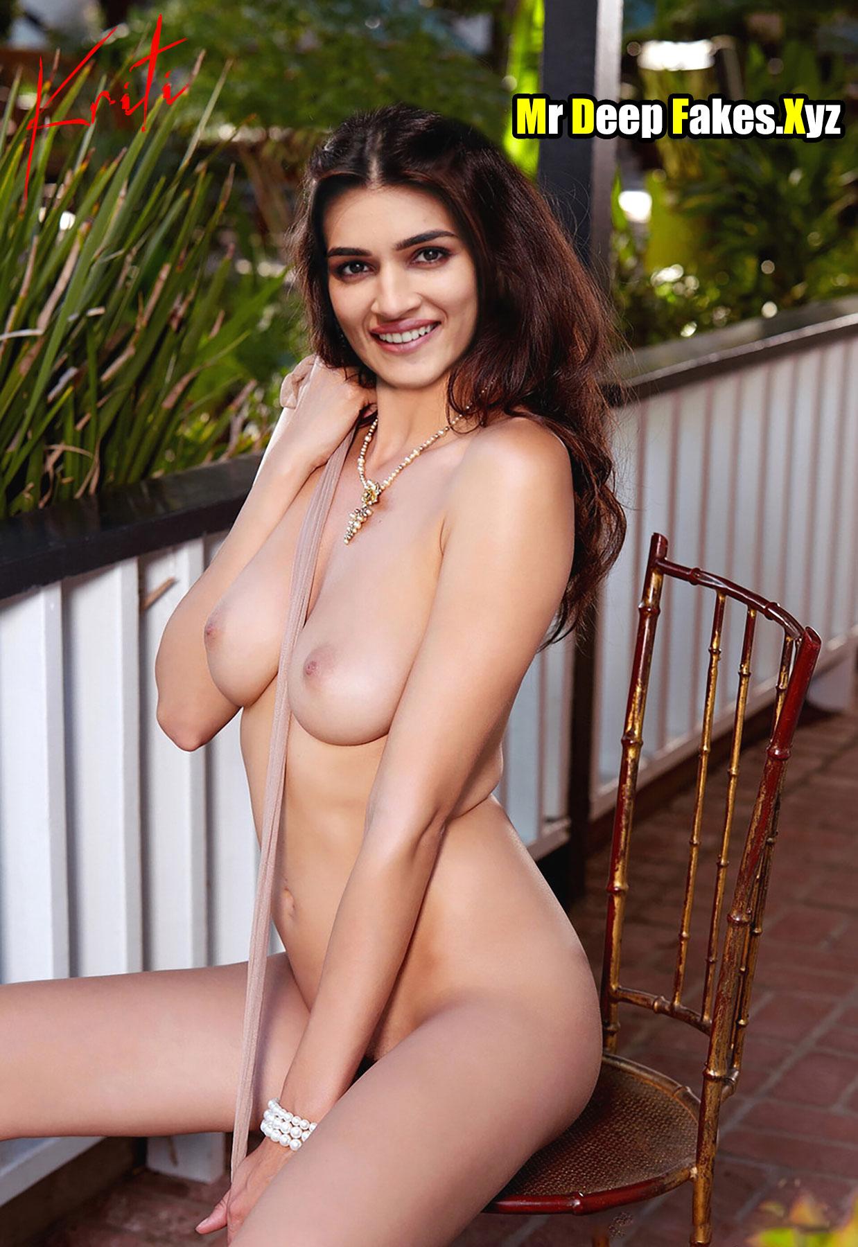 Kriti Sanon full nude sexy body outdoor photoshoot hot boobs nipple
