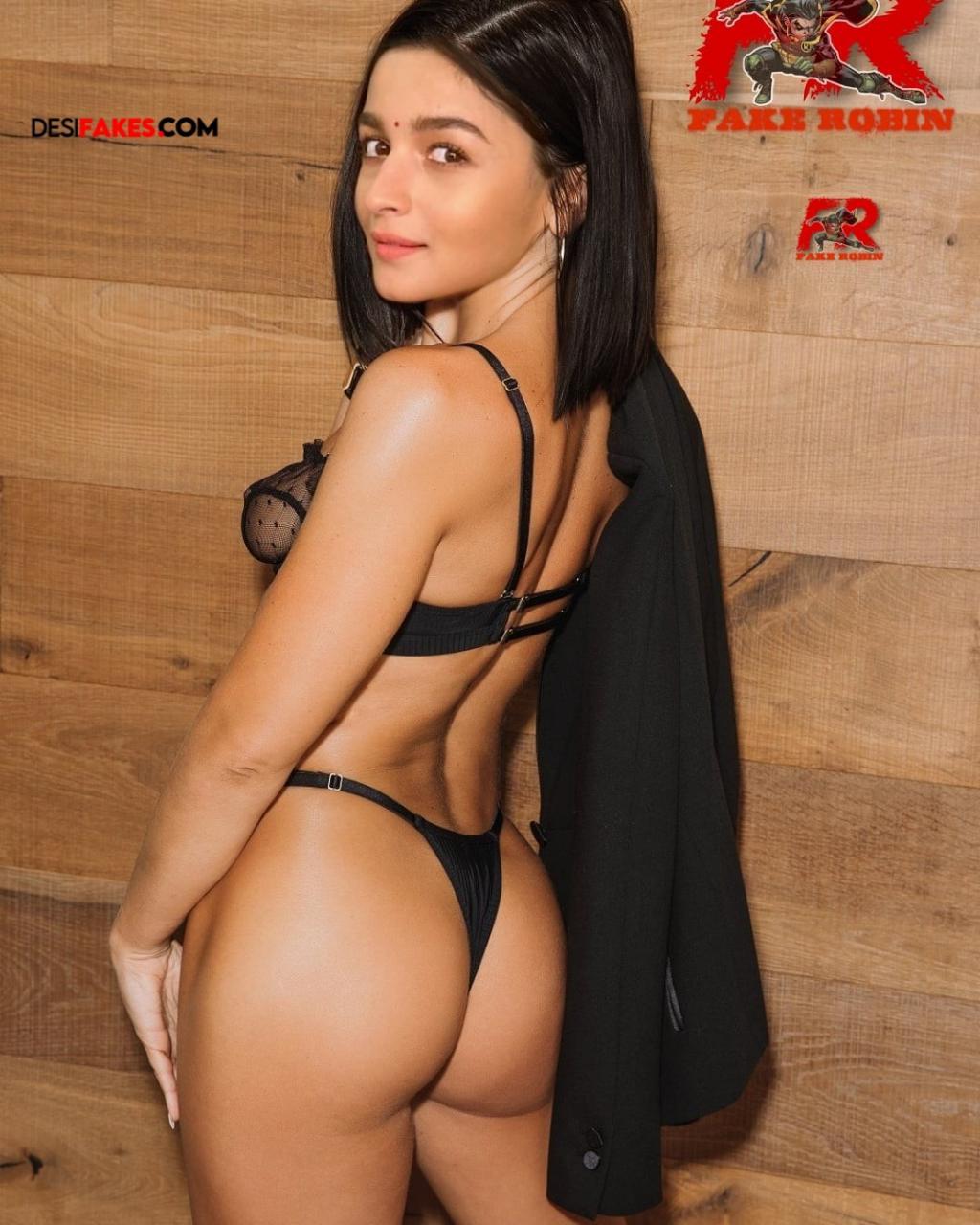 Alia Bhatt Actress Nude