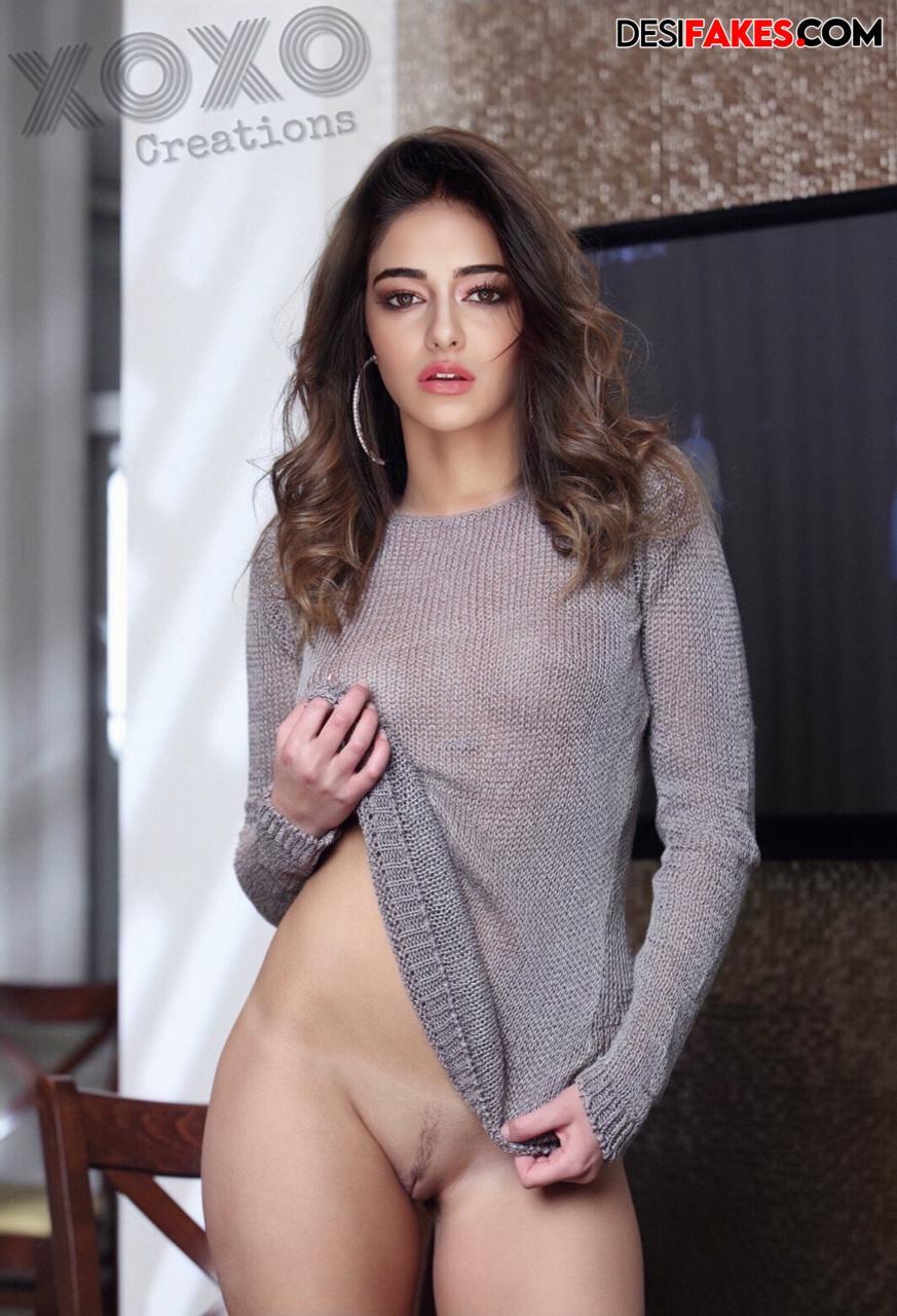 Ananya panday Titsjob Topless Big Boobs Porn