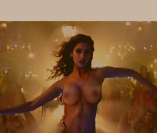 Disha Patani Saree Nude