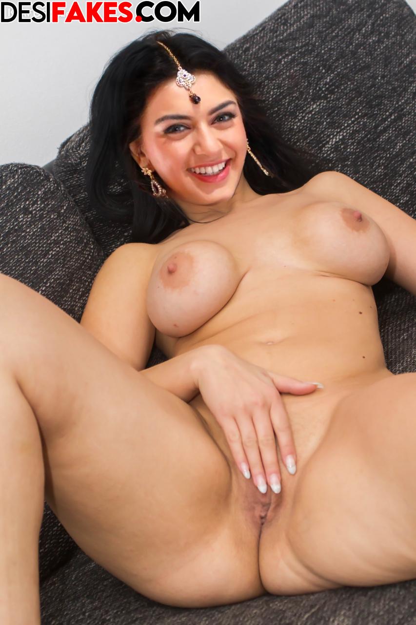 Hansika Motwani Fake Naked Actress