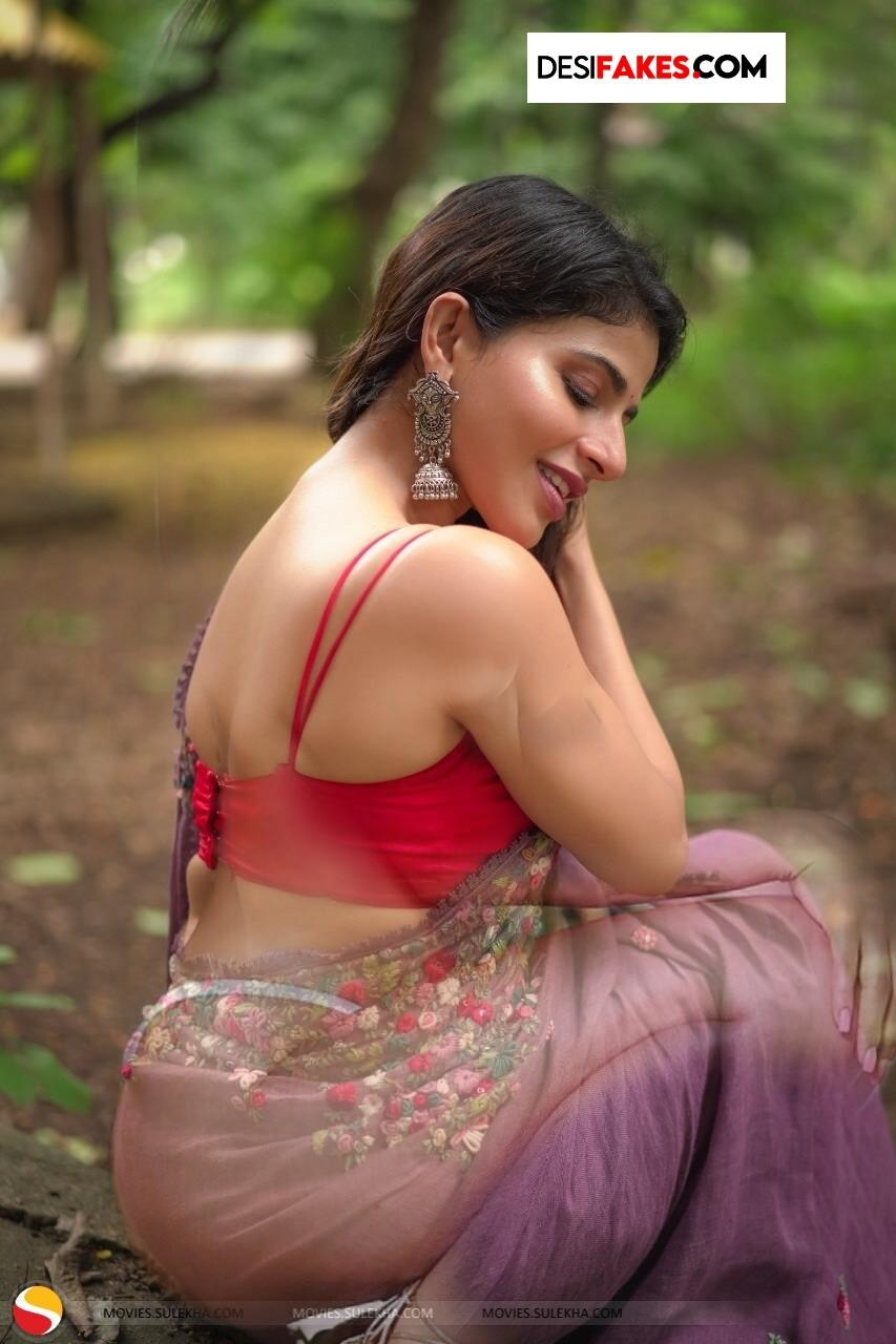Iswarya Menon Xxx Sexy Saree