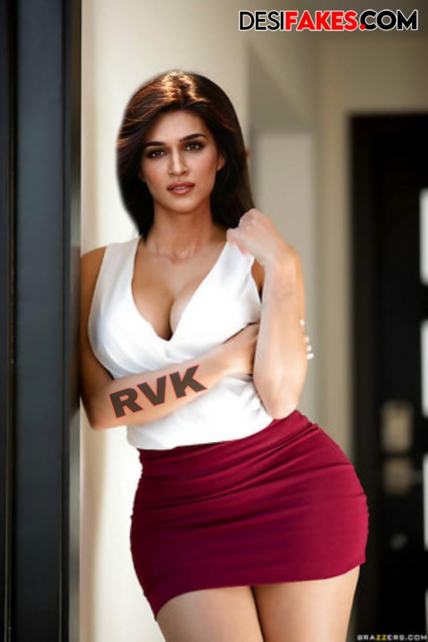 Kriti Sanon Pussy Fake Nude