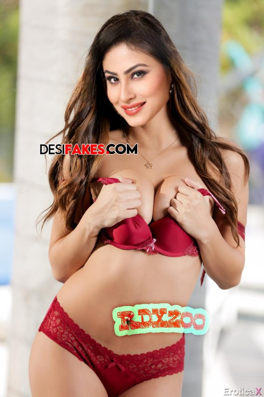 Mouni roy Breast Picture