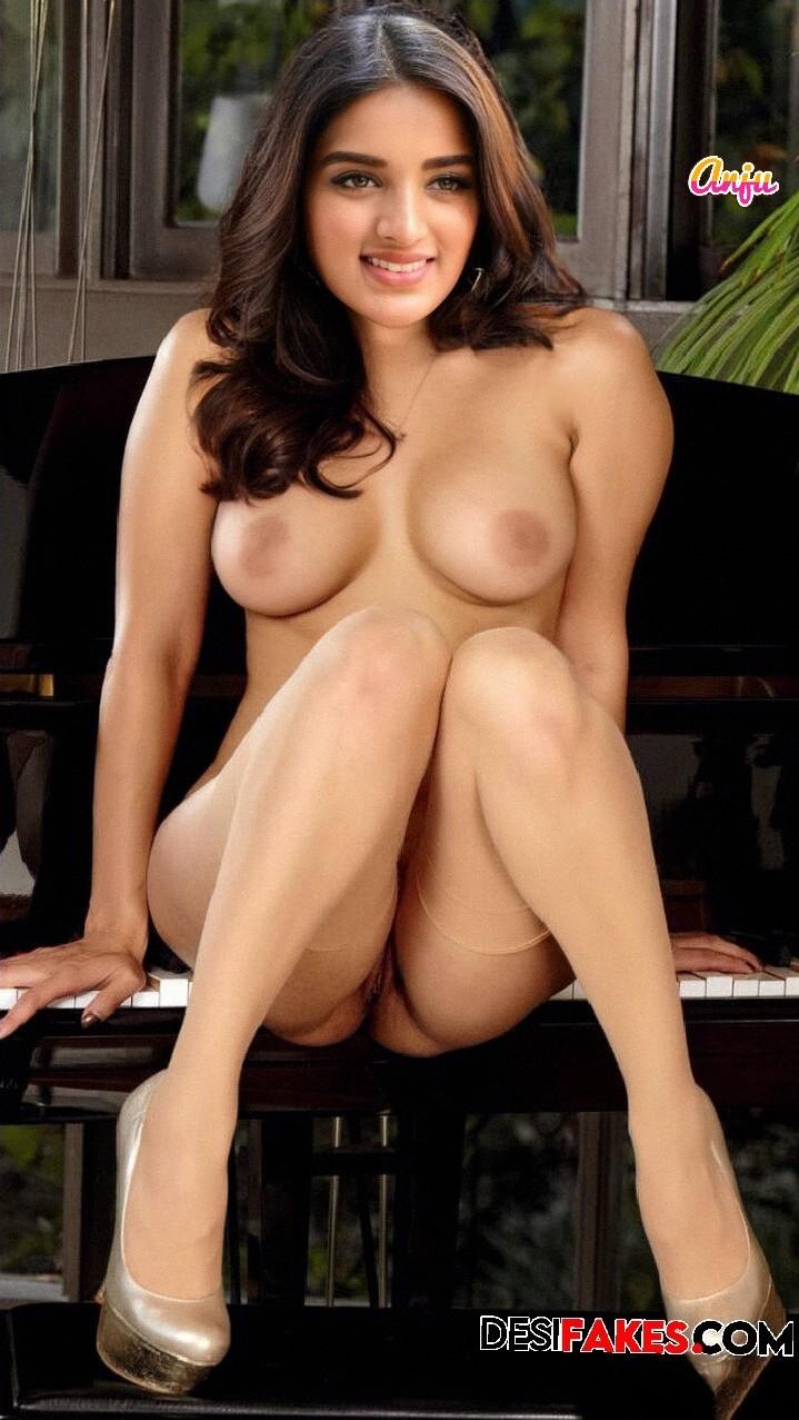 Nidhhi Agerwal Hot Boobs Sex Images