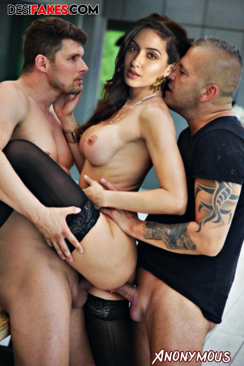 Nora Fatehi Actress Nude Wallpaper