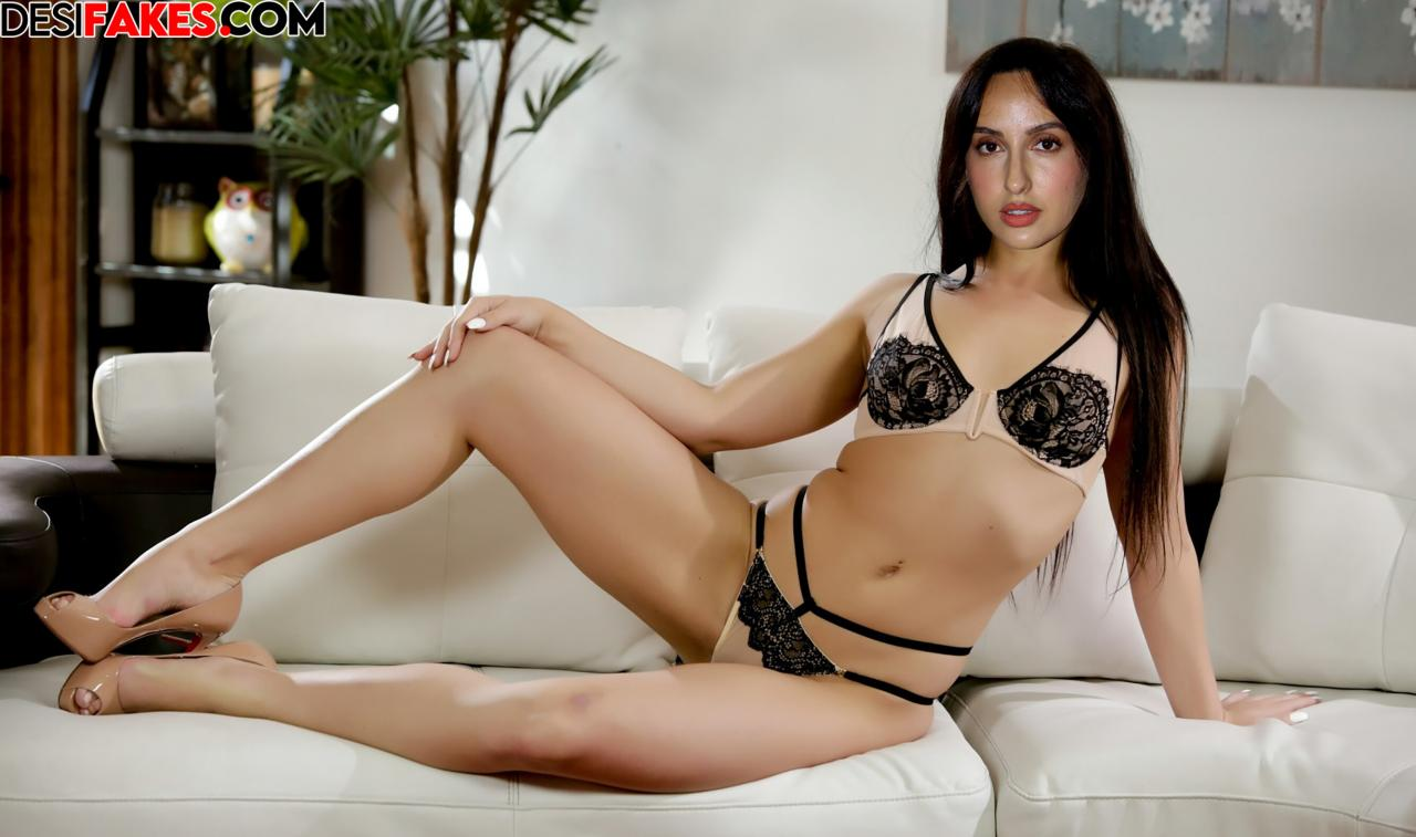 Nora Fatehi Fake Nude Porn Boobs Pussy Picture 2021