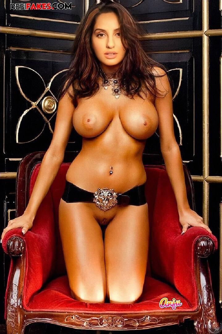 Nora Fatehi Hot Boobs Naked