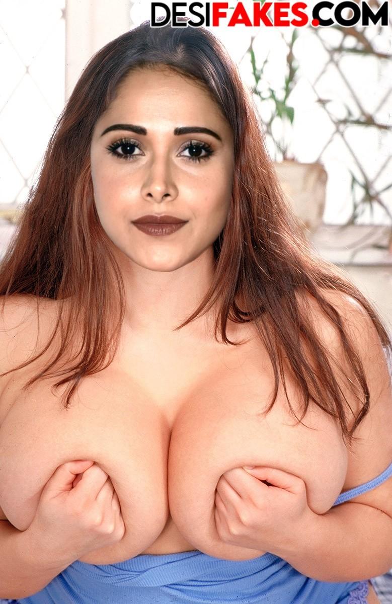 Nushrat Bharucha Fake Indian Actress Naked