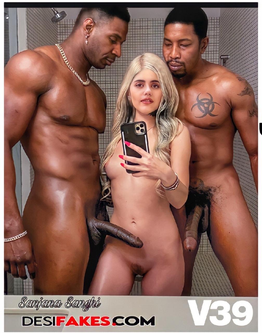 Sanjana Sanghi Naked Interracial
