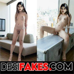 Sanjana Sanghi No Bra Nude Fake Sex Photo