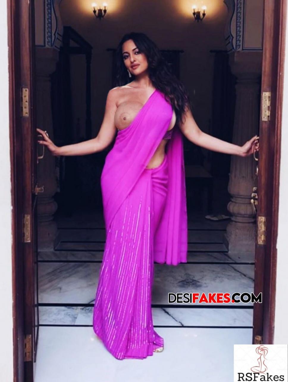 Sonakshi sinha Nude Actress Image