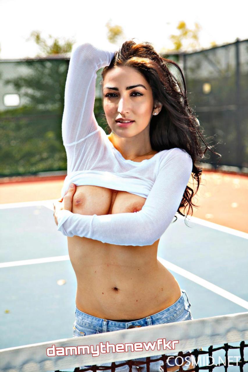 Yami Gautam Nude Nipple Images