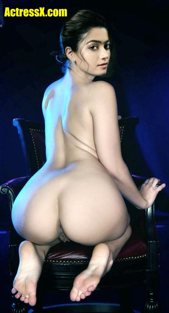 Hot Rashmika New Back Ass Photoshoot Nude tweet