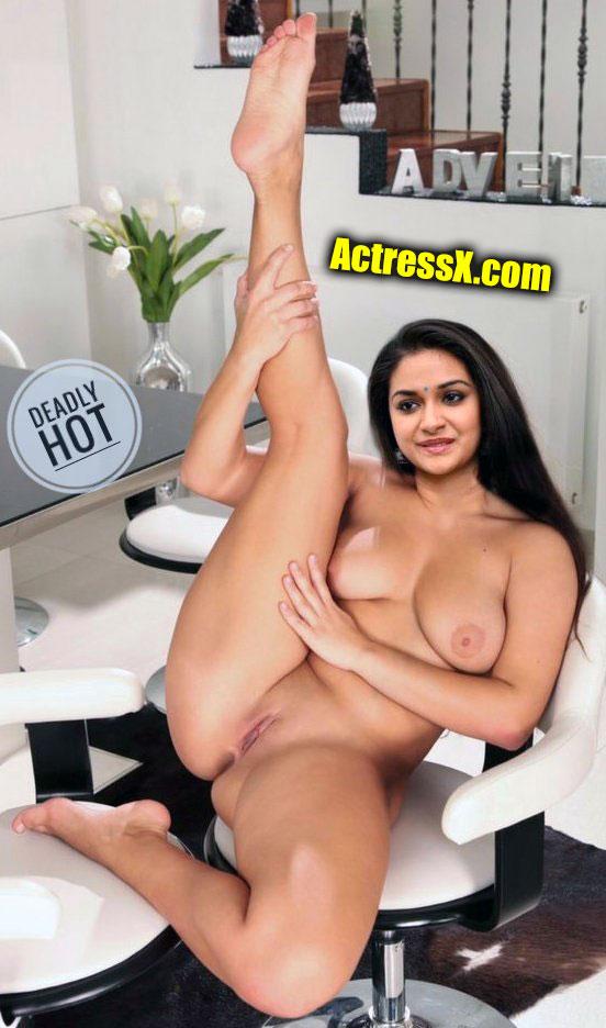 Hot heroine Keerthy Suresh fucking Style Nude tweet