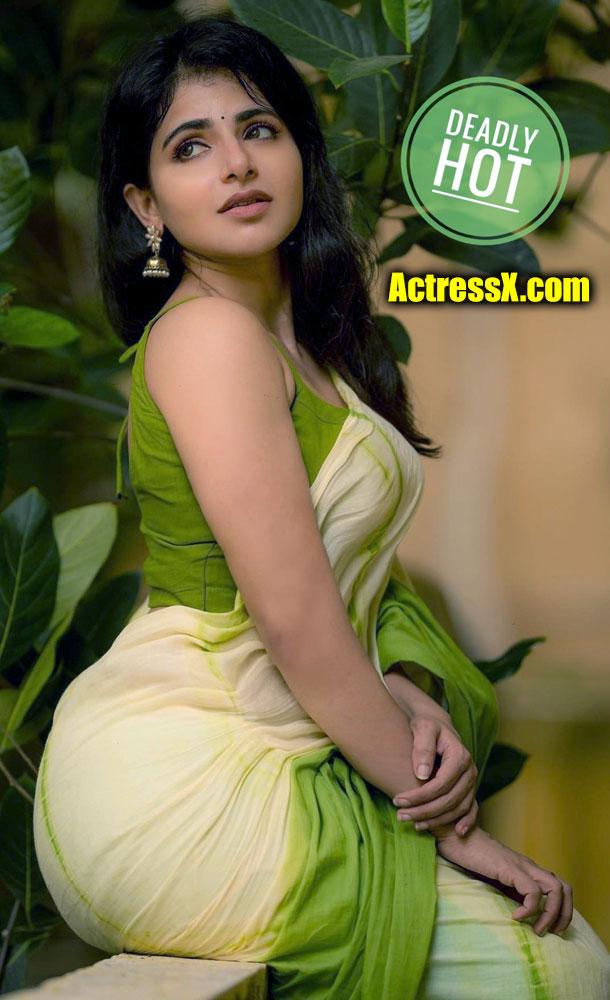 Iswarya Menon ass shape xxx saree hot porn