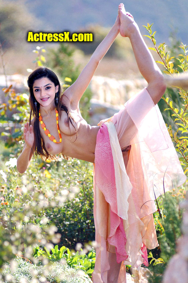 Mehreen Pirzada naked sexy outdoor pose without dress