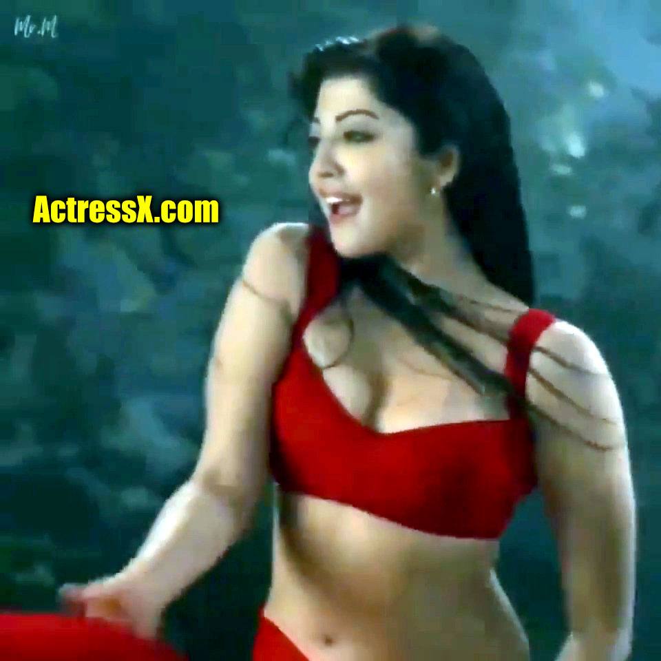 Pranitha Subhash Sexy Move with Saree Only Adult