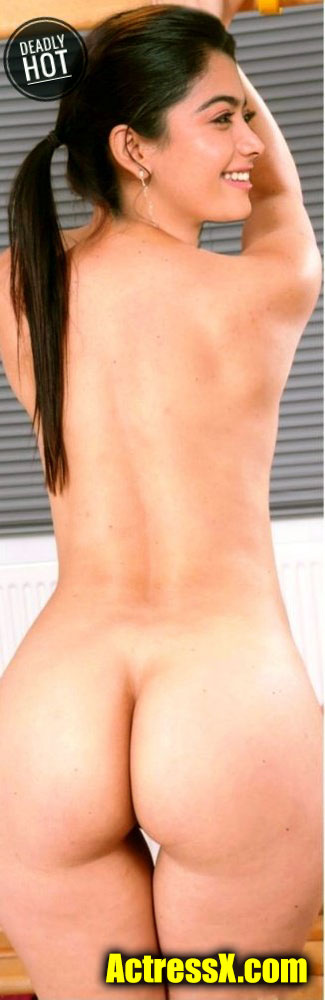 Rashmika Sexy Back Shape Nude hot tweet