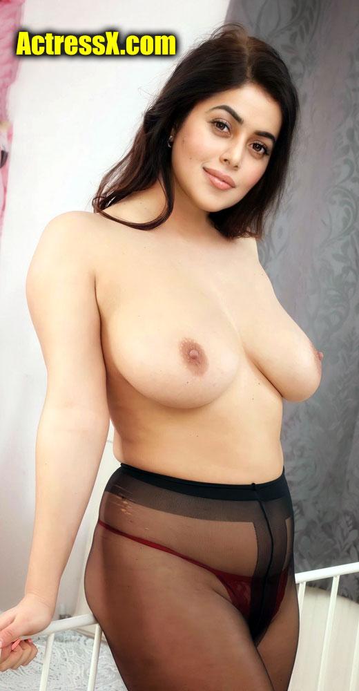 Shamna Kasim Sexy Boobs Nude topless tweet