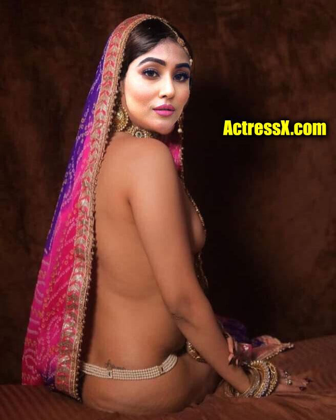 Madhurima Basak full nude first night photoshoot without saree
